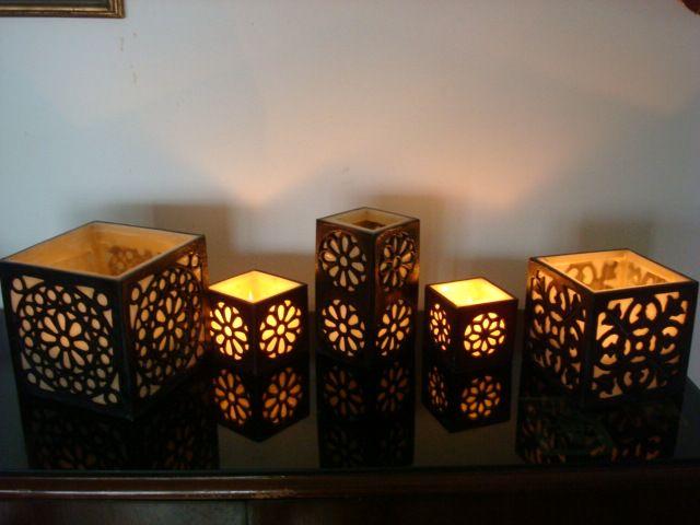 fanales velas rejilla