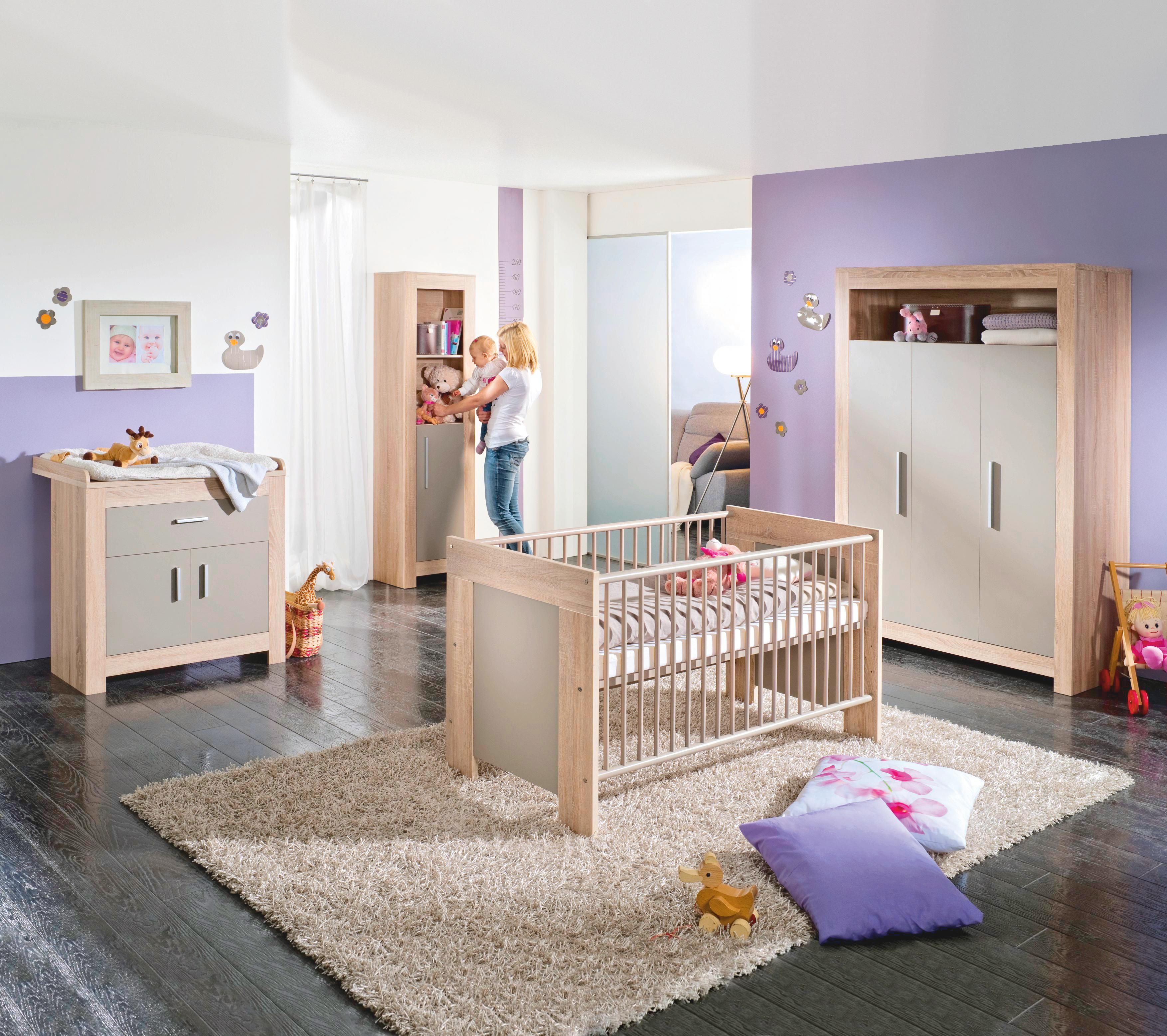 wickelkommode paul eichefarben grau wickelkommode 30 tag und kinderbetten. Black Bedroom Furniture Sets. Home Design Ideas