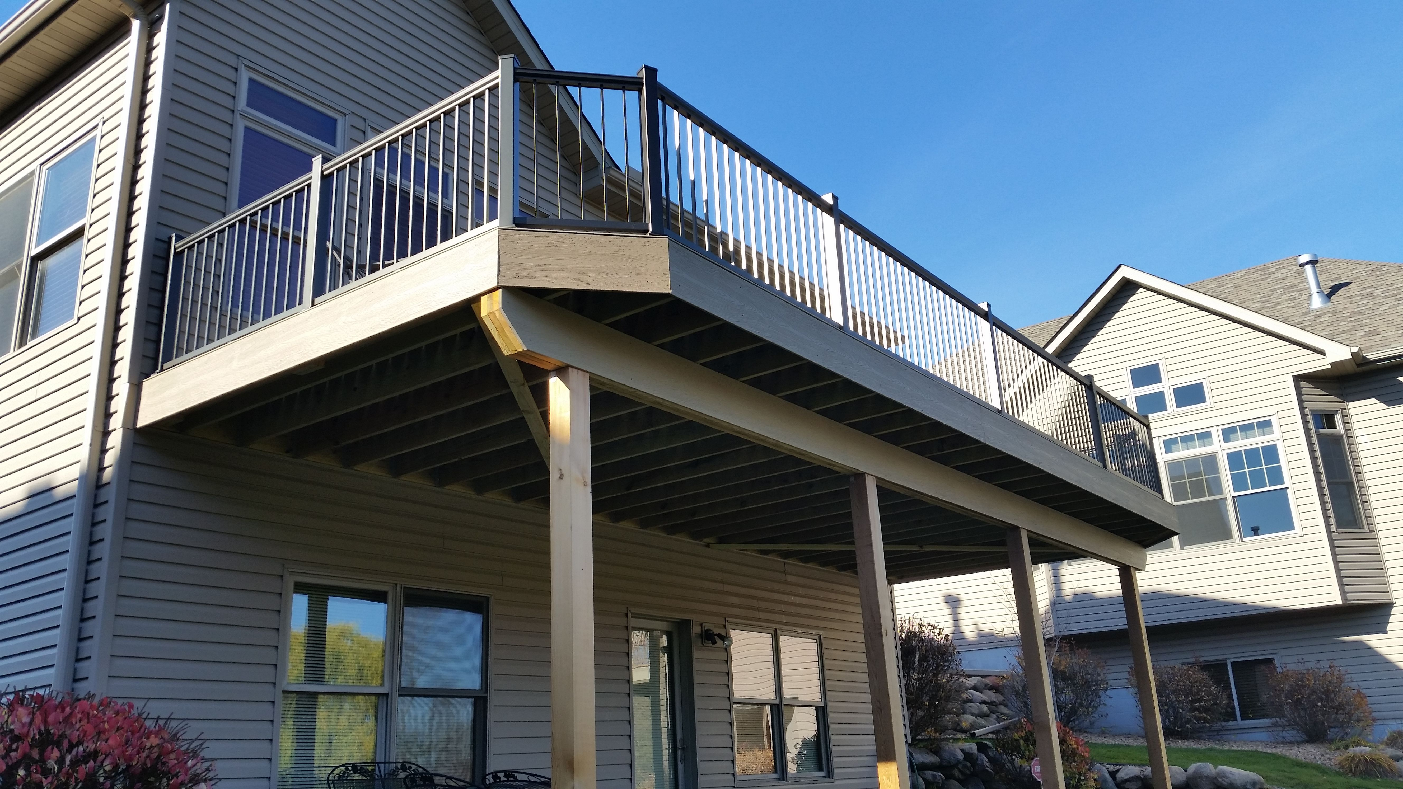 Best View Our Project Gallery Deck Projects Aluminum Railing 640 x 480