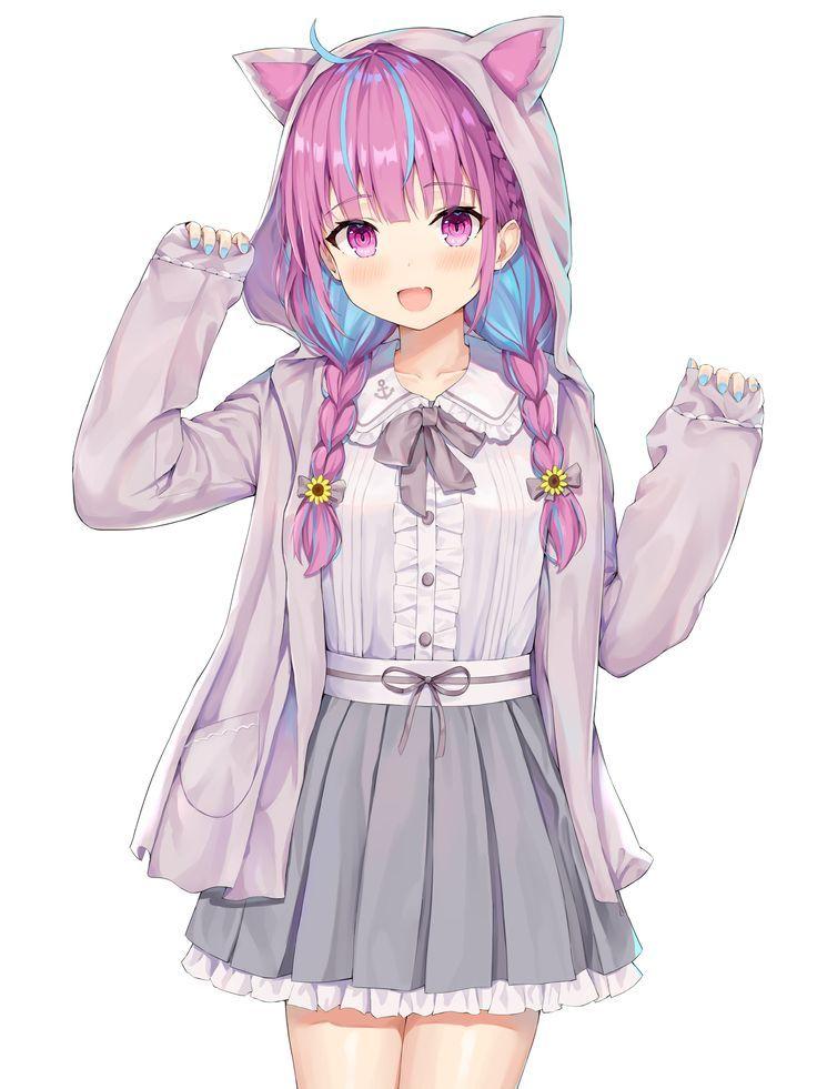 Photo of anime girl