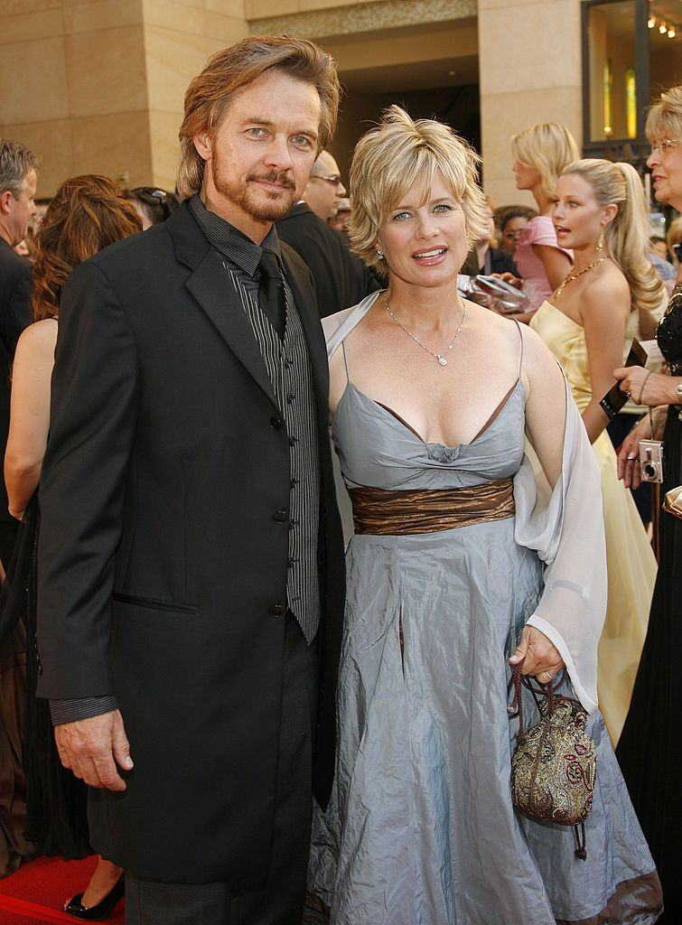 Stephen Nichols And Mary Beth Evans During 34th Annual Daytime Emmy Awards Red Carpet At Kodak Theatre In Hollywood Cali Mary Beth Evans Emmy Awards Stephen