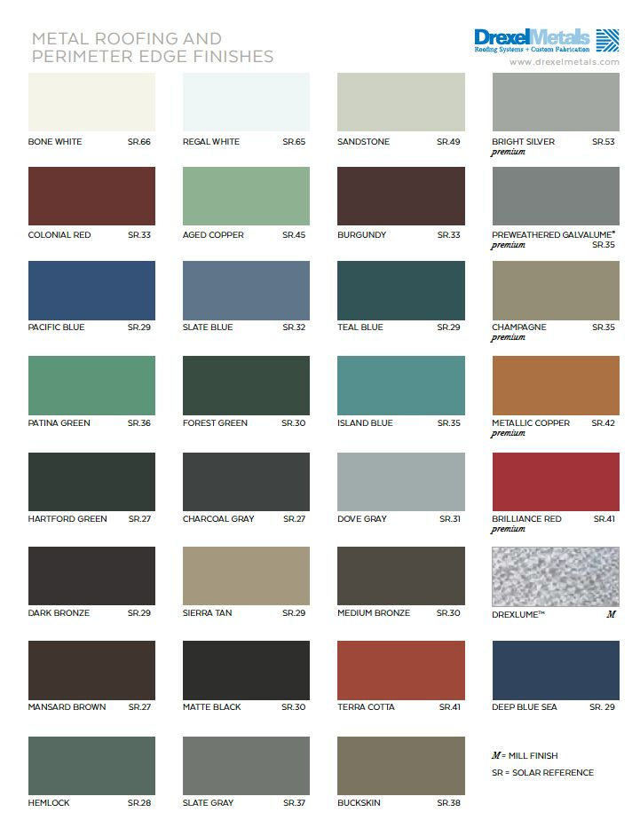 Best 2016 Drexel Metals Color Chart Jpg The Lake House 400 x 300