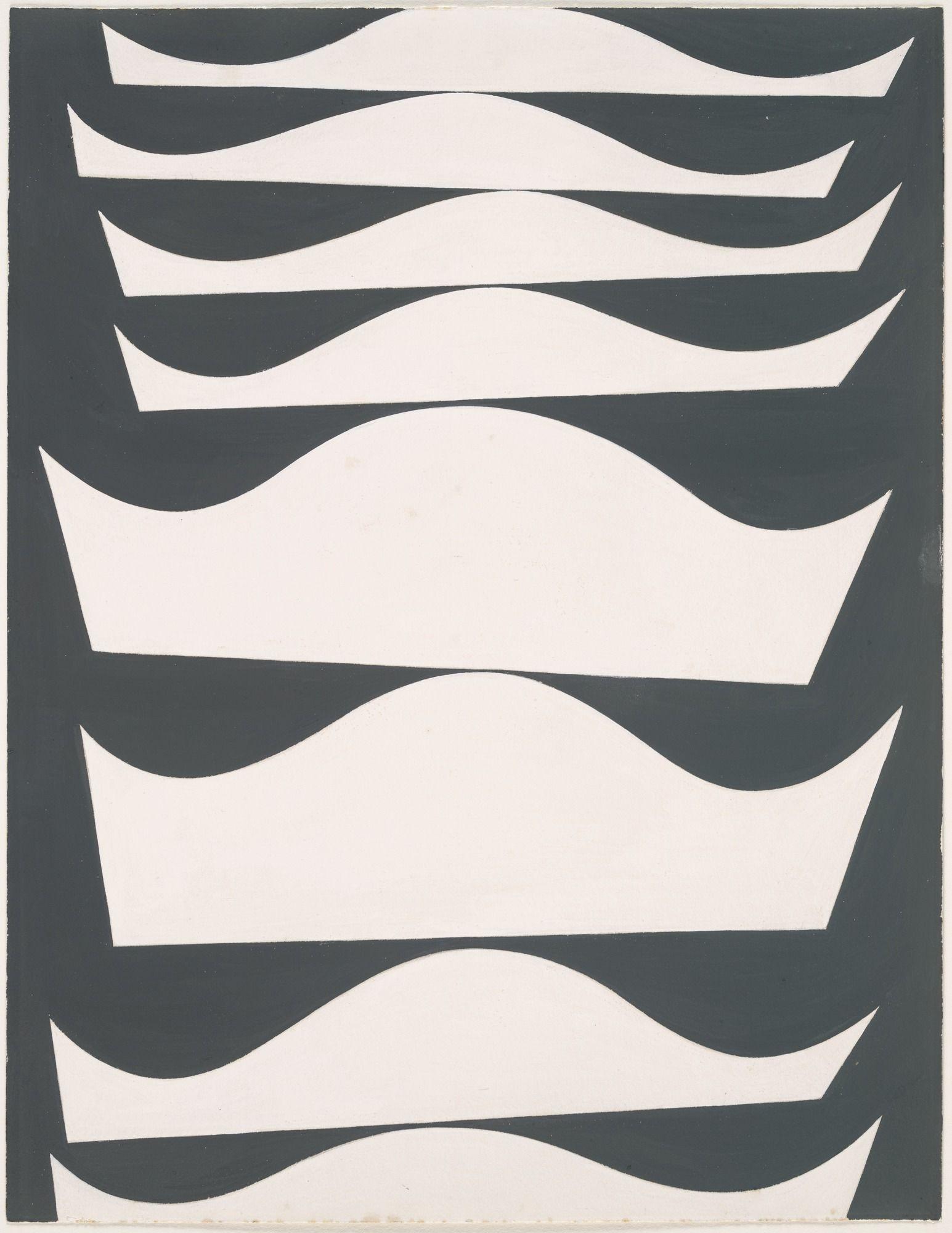 Sophie Taeuber-Arp. Échelonnement désaxé. (1934)