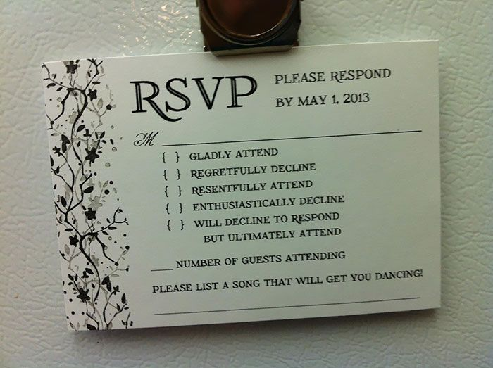 All You Need Is Love Wedding Invitations: 9 Hilarious Wedding Invitations That Simply Can't Be