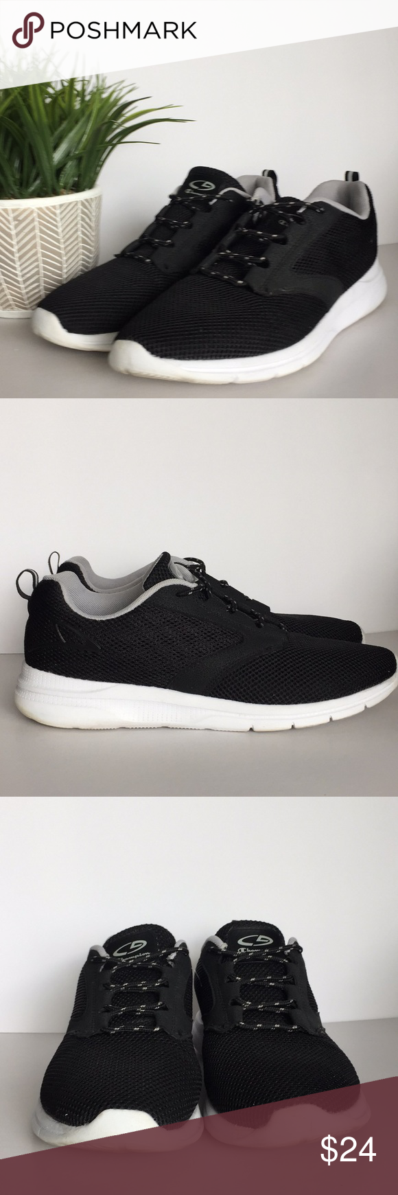 296a7a2941c47 ⚡ ⚡️Stylish Athletic Sneakers by C9 Champion Black Athletic Shoes by C9  Champion. Very comfy for walking running exercise. These shoes have been  worn as ...