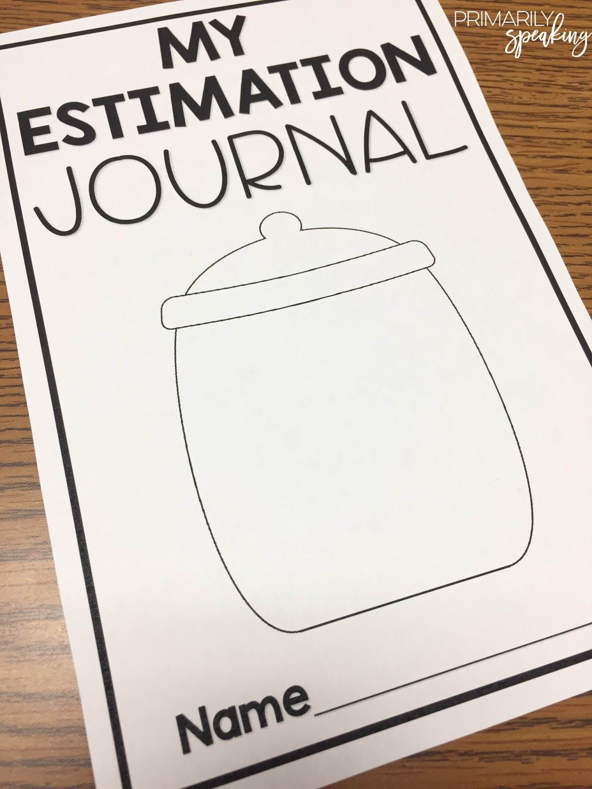 Estimation In The Primary Classroom