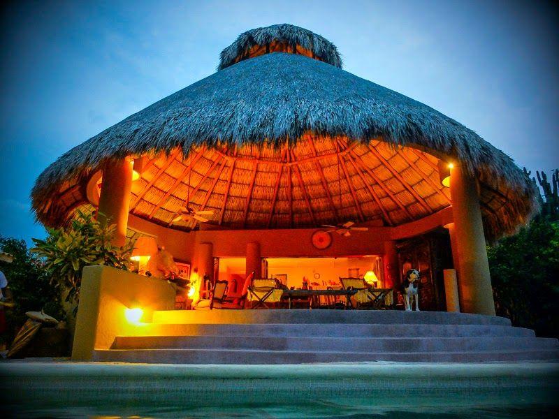 Casa Pan de Miel, en Mazunte (Oaxaca)