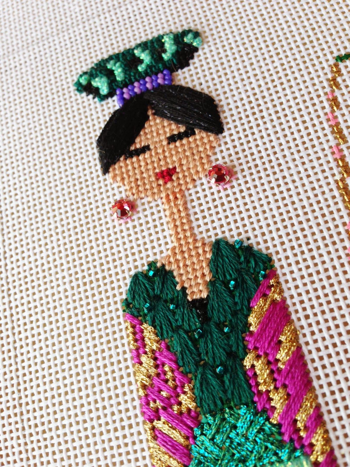 It's not your Grandmother's Needlepoint: The Party Continues