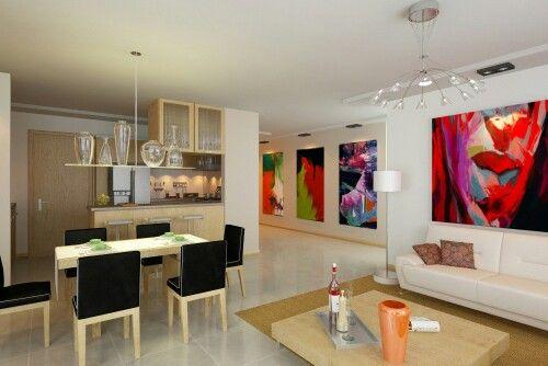 Sala Comedor Decoracion De Salas Modernas Lamparas Para Sala Comedor Sala Comedor Y Cocina