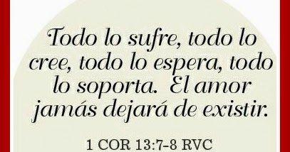 """BIENVENIDO AL ROMANCE    """"El amor todo lo sufre, todo lo cree, todo lo espera, todo lo soporta"""" 1 Corintios 13:7         ¿Cómo eres con t..."""