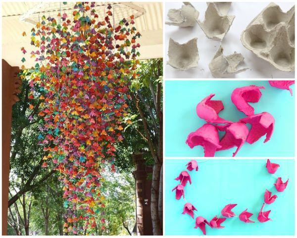 20 Upcycled Egg Carton Decorating Ideas Cartao De Ovo Upcycled Crafts Caixas De Ovos