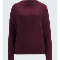 Photo of Cashmere-Pullover in Bordeaux windsor