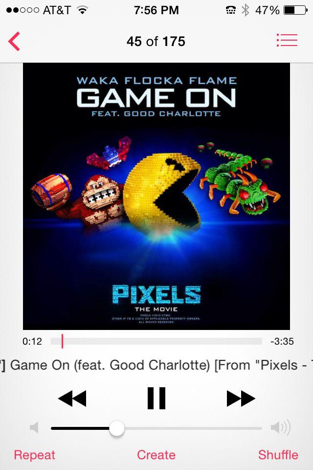 I love pixels so much I seen it twice!