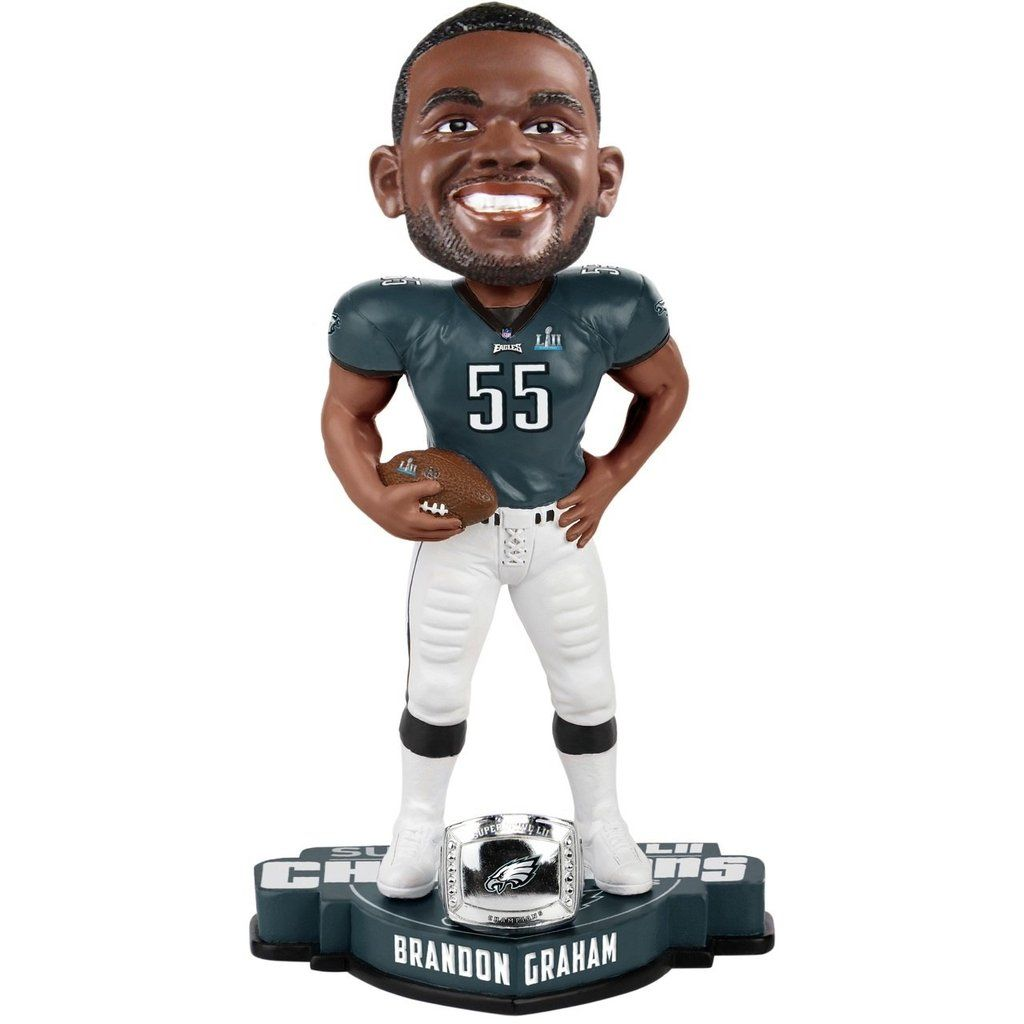 on sale 203bb 5aa09 Philadelphia Eagles Bobble Brandon Graham #55 Super Bowl 52 ...