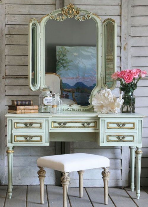A dressing table would go great.
