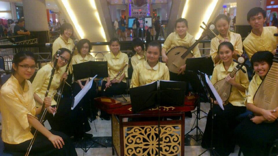Performance in front do Parkson Sunway 2013