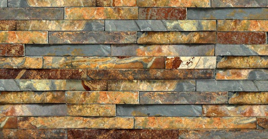 rustic slate split face mosaic tile slate cladding