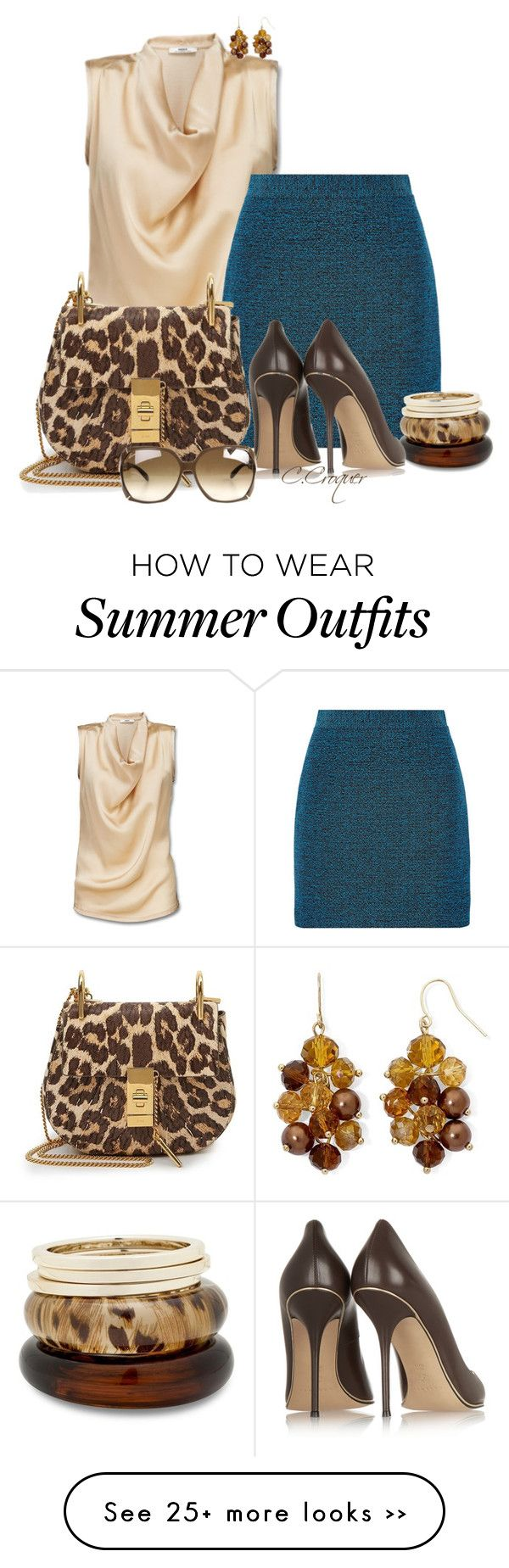 """""""Summer Chic"""" by ccroquer on Polyvore"""
