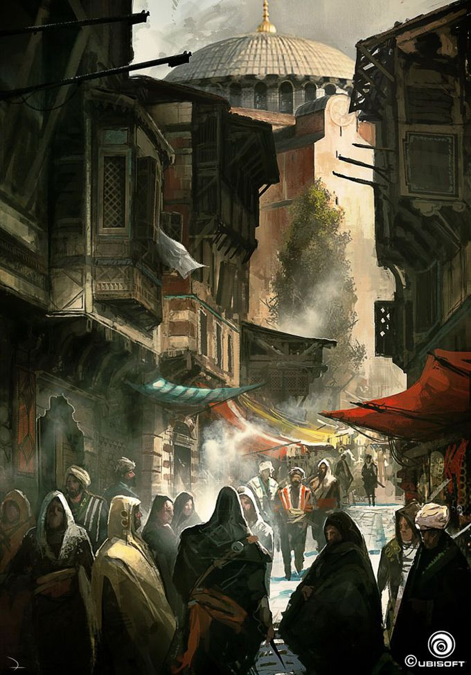 The Concept Art of Assassin&#39-s Creed: Revelations | Concept art ...