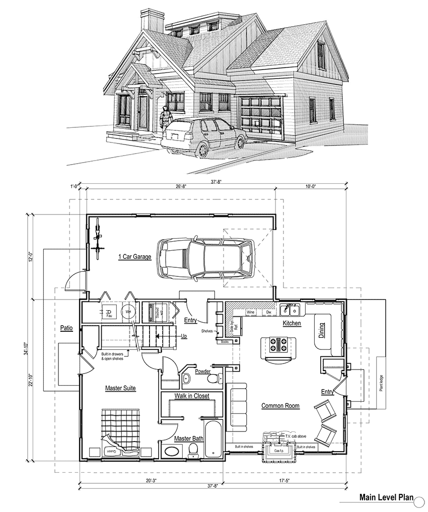 House Plans with Porches House plans House and Cottage house plans