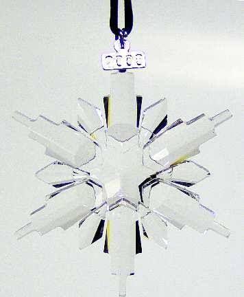 Swarovski Crystal Annual 2006 Christmas Ornament | Swkorski ...