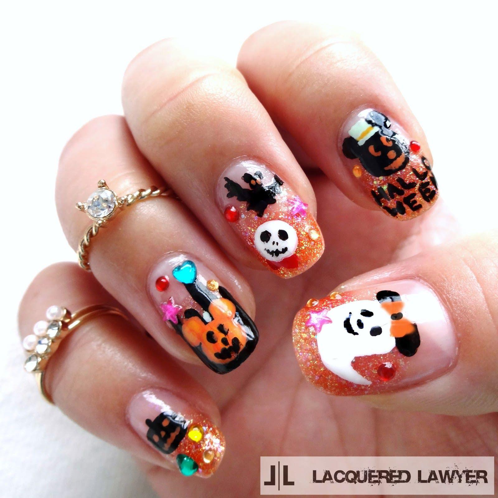 26+ Disney Nail Art Designs, Ideas | Design Trends | Nails nails ...