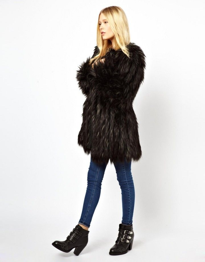 Real or Fake - How do you wear your fur coats | Fur coats, Black ...