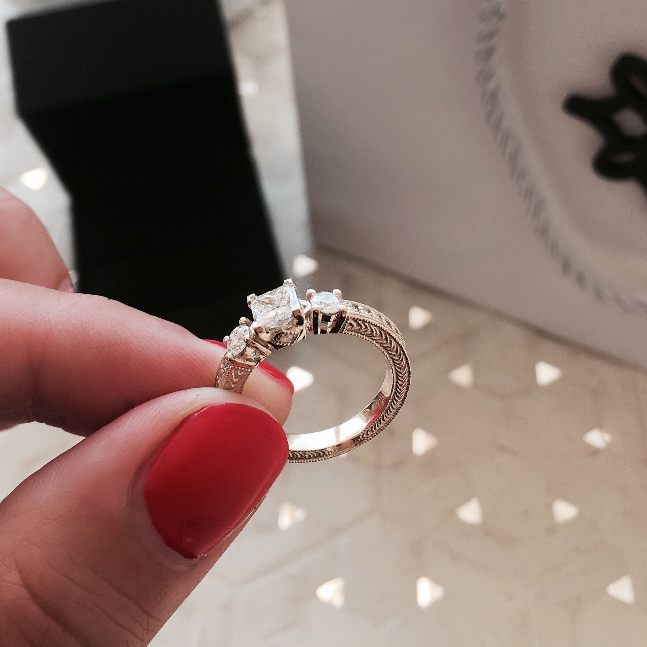The details that makes the difference! Engagement rings