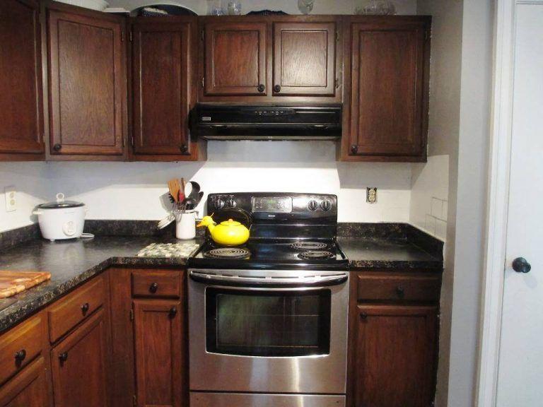 5 - gel stain kitchen cabinets cherry   Restaining kitchen ...