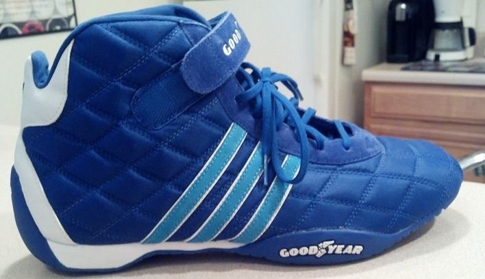 Adidas Goodyear Monaco Quilted Racing Shoes US by