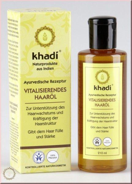 khadi naturprodukte vitalisierendes haar à l 210ml produkte gegen