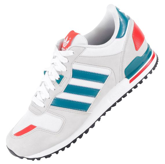 save off f6b3b 45ae1 adidas Originals ZX 700  White, Teal   Red