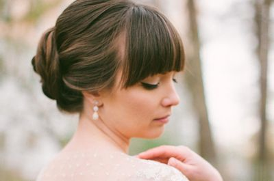 Raccolto Con Frangia Wedding Elegance Hair Wedding Hair