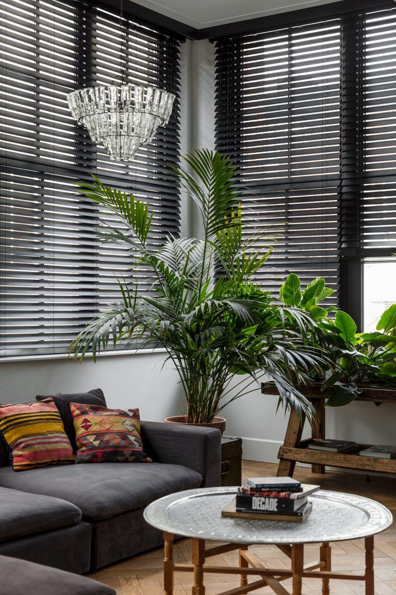 Jasno Blinds In Color Matte Black Blinds For Windows Living Rooms Venetian Blinds Living Room Living Room Blinds