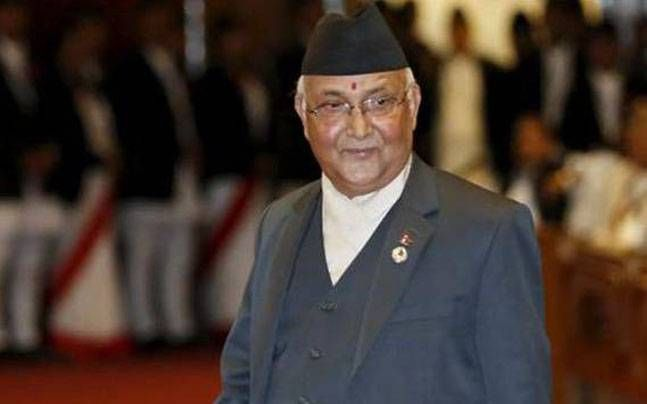 Nepal PM arrives on 6-day visit to India