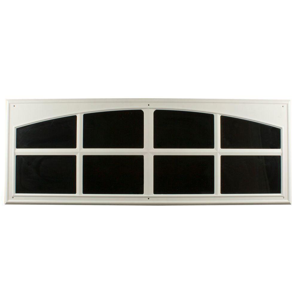 Crown Metalworks White Decorative Faux Window 2 Per Pack Dec Faux Window Garage Windows Garage Doors