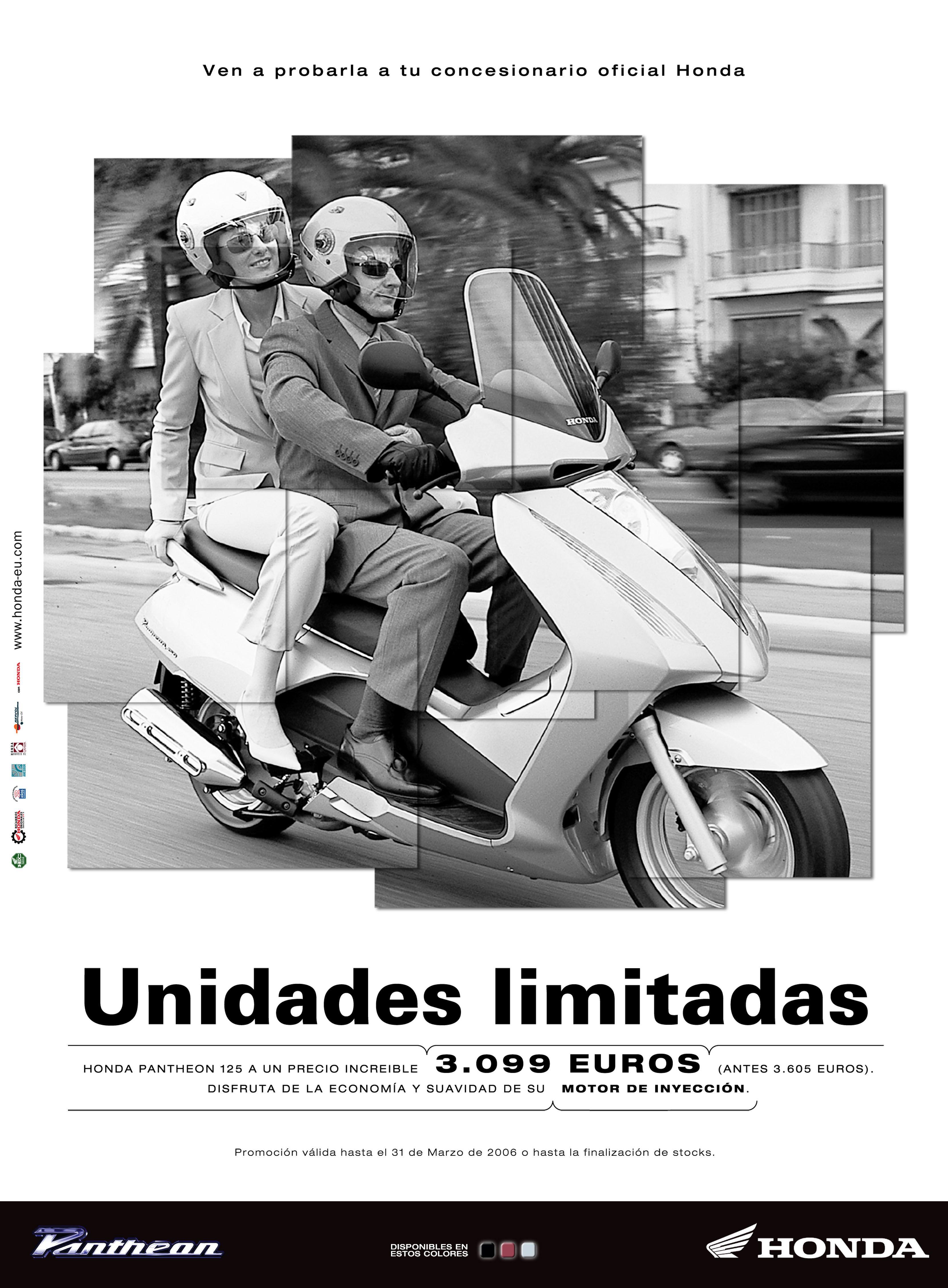 Gráfica Prensa / Honda Motos / Pantheon juannavarro.jnt@gmail.com