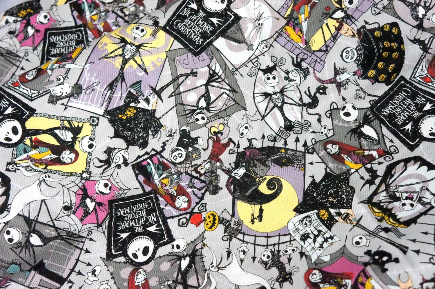 Disney Licensed fabric Nightmare before christmas fabric 50 cm by ...
