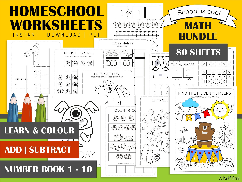 Printable Math Preschool Worksheets Kindergarten Printables Etsy In 2021 Preschool Math Worksheets Selling Handmade Items Etsy Handmade [ 2251 x 3000 Pixel ]
