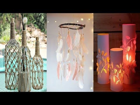 diy room decor 39 easy crafts ideas at home youtube art