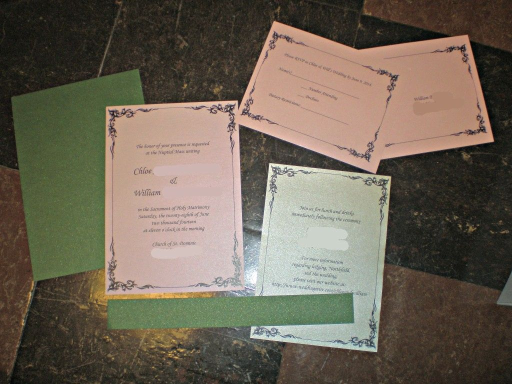 what to include in diy wedding invitations%0A DIY Wedding Invitation