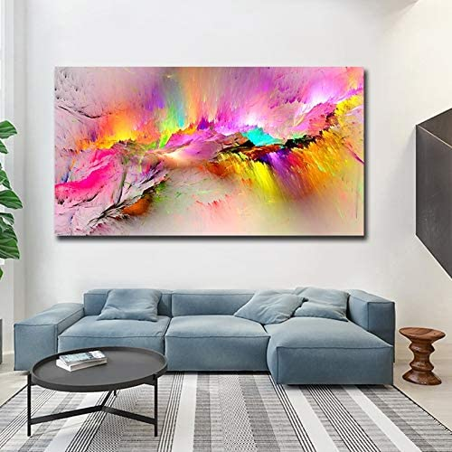 Haotong11 Impreso Pintura Al óleo Dropshipping Impresiones De La Lona Para La Sala De Estar De Par Arte Abstracto Pintura Arte Abstracto Sobre Lienzo Abstracto