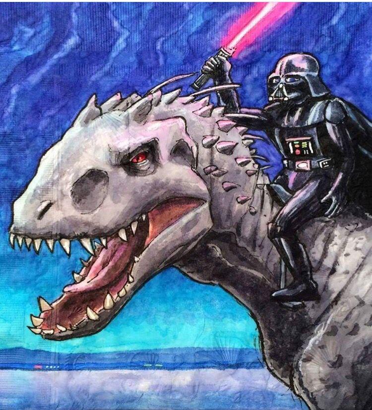 Omg yes!! Star wars characters, Indominus rex, Star wars