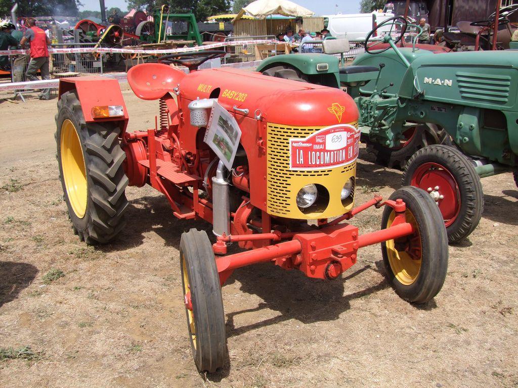 Babiole Multi Baby 203 Traktoren