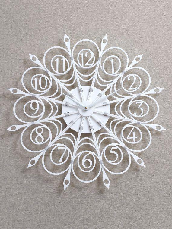 Garden Web Clock by SarahMimoClocks on Etsy, $245.00?