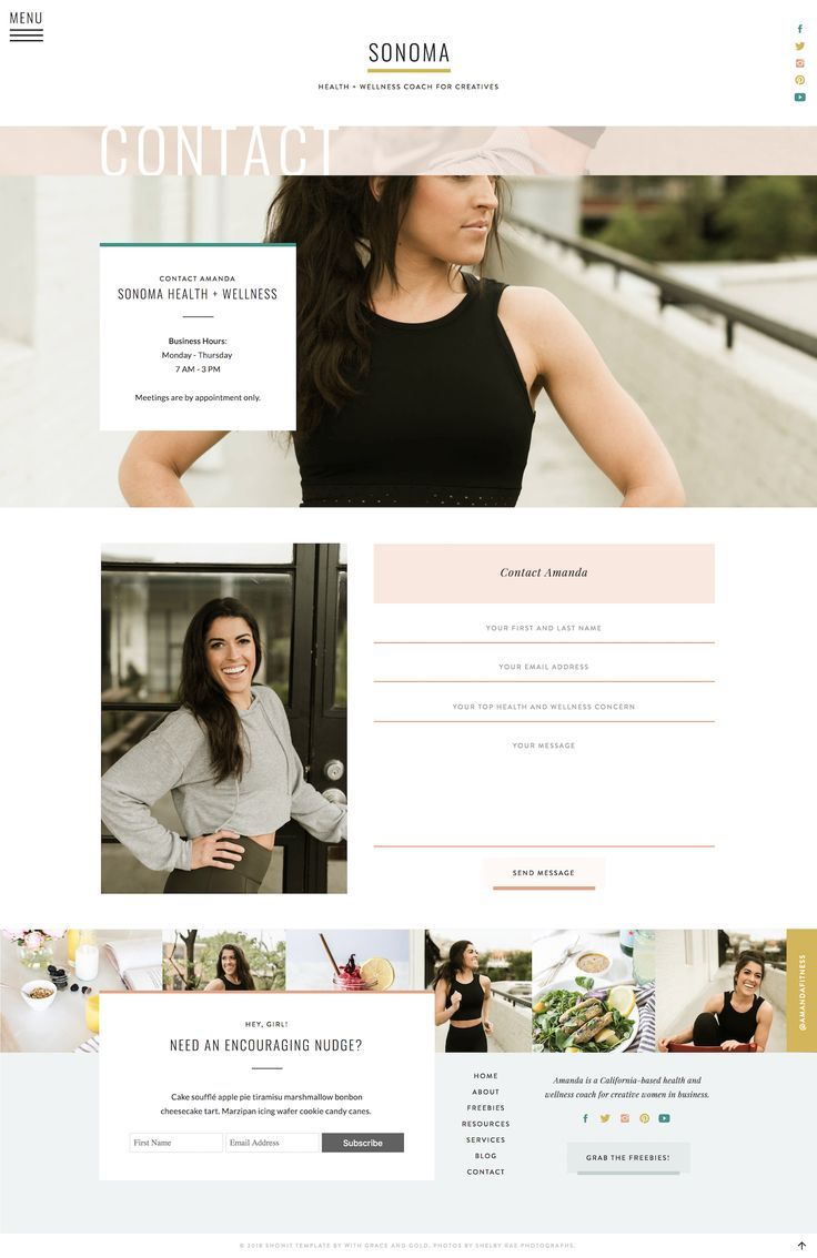 With Grace and Gold | Branding, Web Design, and Education ...