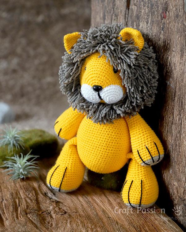 Lion Amigurumi Pattern - Free Crochet Pattern   Crochet ...