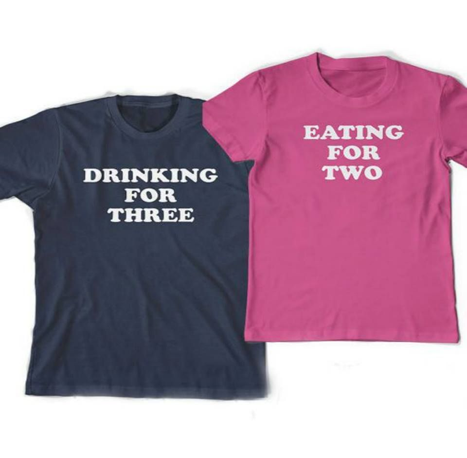 838a487c405d6 Here's another gender reveal shirts perfect for the Mom and Dad to be.  #genderrevealidea