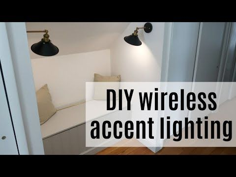 How to add accent lights without power or cords with this ... on Sconces No Electric Power id=67981