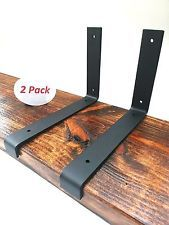 2 pack 9 25 x6 lip wall shelf brackets angle metal shelve modern rh pinterest com